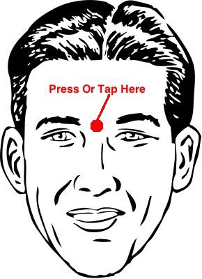 sinus pressure points